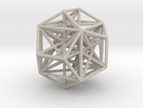 MorphoHedron11 in Natural Sandstone