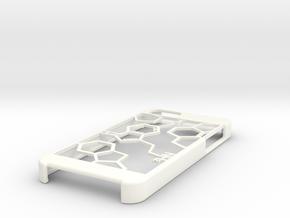 Iphone 5 Serotonin Case in White Processed Versatile Plastic
