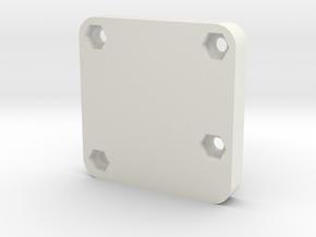 Sparky BGC Case - Bottom -Beta in White Strong & Flexible