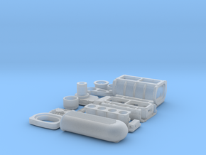 1 12 426 Hemi GMC Blower W FI System in Smooth Fine Detail Plastic