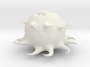 Sad monster..(by Nicky, Deszk) in White Natural Versatile Plastic