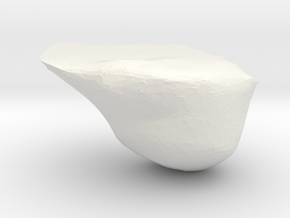 Sapka in White Strong & Flexible