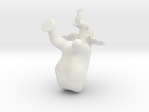 making elephant in White Natural Versatile Plastic
