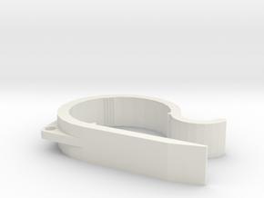 Capeze One in White Natural Versatile Plastic