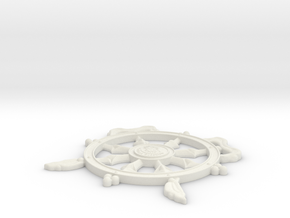 Wheel Hollywood in White Natural Versatile Plastic