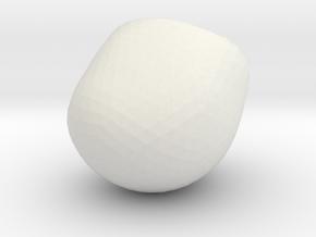 HEAD OF GOLLAM in White Natural Versatile Plastic