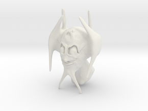 bat thingy man person in White Natural Versatile Plastic