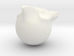 birdy in White Natural Versatile Plastic