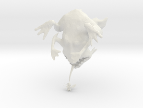 Mutant Frog from Deszk in White Natural Versatile Plastic