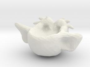 arc in White Natural Versatile Plastic
