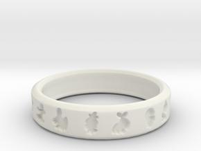 Pokemon Ring in White Strong & Flexible