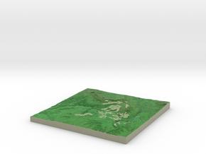 Terrafab generated model Fri Sep 27 2013 13:15:27  in Full Color Sandstone