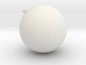 1206 in White Natural Versatile Plastic