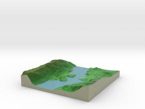 Terrafab generated model Fri Sep 27 2013 17:36:40  in Full Color Sandstone