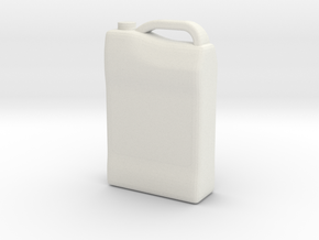 1/10 Scale Antifreeze Container in White Natural Versatile Plastic