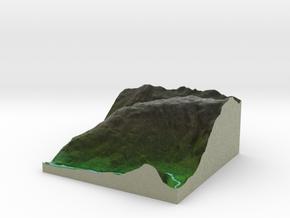 Terrafab generated model Fri Sep 27 2013 14:55:28  in Full Color Sandstone