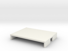 009 flat wagon body in White Natural Versatile Plastic