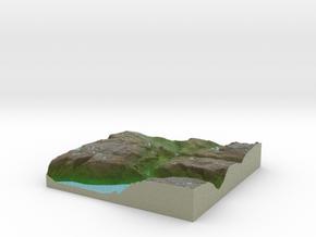 Terrafab generated model Sat Sep 28 2013 14:45:51  in Full Color Sandstone