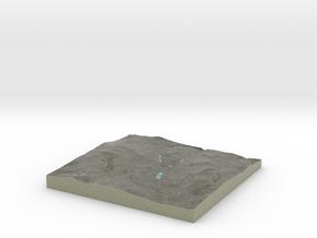Terrafab generated model Sat Sep 28 2013 13:16:39  in Full Color Sandstone