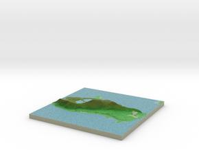 Terrafab generated model Sat Sep 28 2013 14:51:51  in Full Color Sandstone
