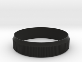 Fuji X100 / X100S / X100T Focus Ring Sleeve in Black Natural Versatile Plastic
