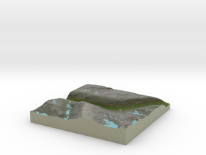 Terrafab generated model Tue Oct 01 2013 10:51:09  in Full Color Sandstone
