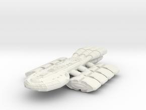 StarFreighter B in White Natural Versatile Plastic