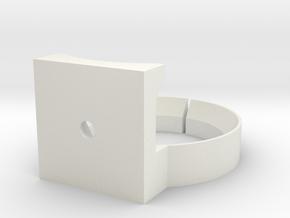 Sony NEX SEL18200 Tripod ring mount in White Strong & Flexible