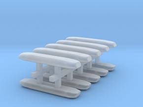 DBS 4000 10x15mm - Ecke und Balken aus einem Stück in Smooth Fine Detail Plastic