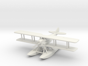 SPAD XIV 1:144th Scale in White Natural Versatile Plastic
