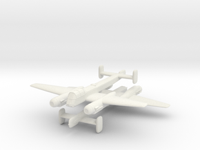 1/300 Arado Ar 240 (x2) in White Strong & Flexible