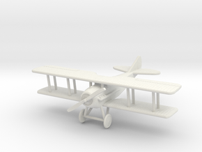 SPAD XII 1:144th Scale in White Natural Versatile Plastic
