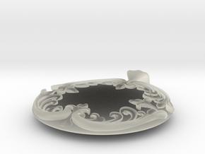 Pendant in Transparent Acrylic