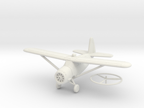 1/100 Curtiss O-52 Owl in White Natural Versatile Plastic