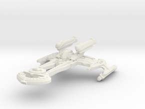 Wo'bortas Class Refit C Battleship in White Strong & Flexible