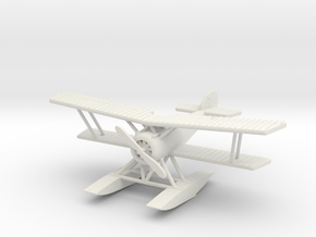 Hanriot HD.2 1:144th Scale in White Natural Versatile Plastic