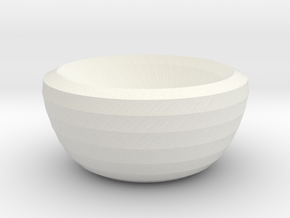 mars bowl in White Natural Versatile Plastic