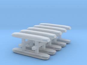 DBS 4000 10x16mm - Ecke und Balken aus einem Stück in Smooth Fine Detail Plastic