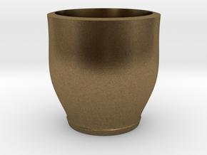 red cap cup 2 in Natural Bronze