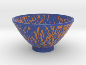 DRAW bowl - glitch in Full Color Sandstone