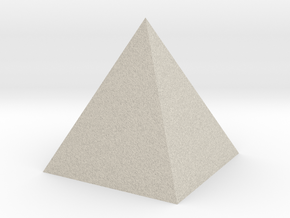 pyramid in Natural Sandstone