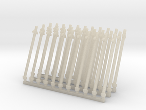 Antena inclinada (x33) in White Acrylic
