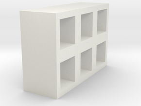 Modern shelves in White Strong & Flexible