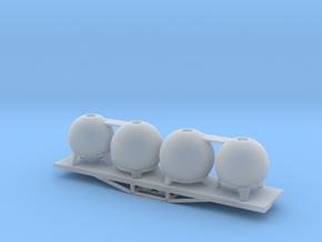 URC Cement Wagon, New Zealand, (NZ120 / TT, 1:120) in Smooth Fine Detail Plastic