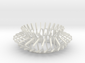 Torus 4 in White Natural Versatile Plastic