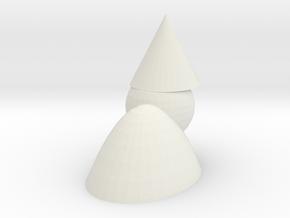 Quasimodo the gnome in White Natural Versatile Plastic