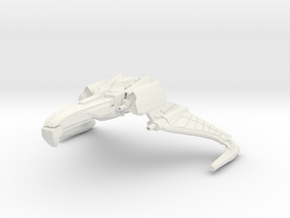 T'salvan Class Cruiser -wings Down- in White Strong & Flexible