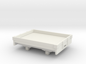 1:32/1:35 1 plank wagon  in White Natural Versatile Plastic