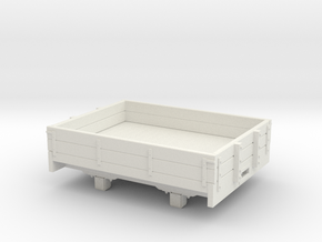 1:32/1:35 2 plank dropside wagon  in White Natural Versatile Plastic