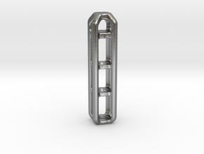 Tritium Lantern 4B (Silver/Brass/Plastic) in Natural Silver